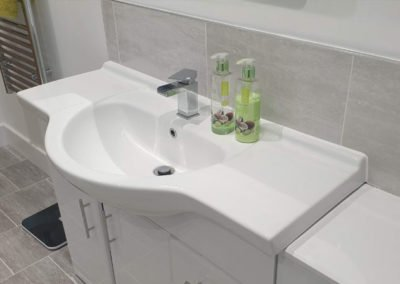 New bathroom installation - bathroom sink