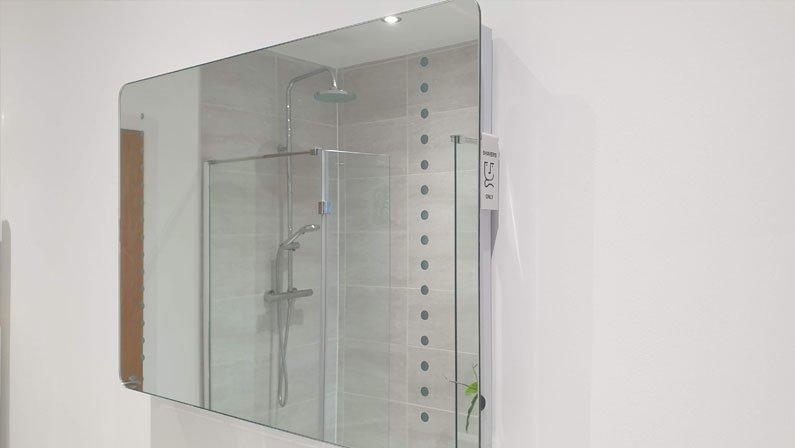 New bathroom installation - LED Mirror